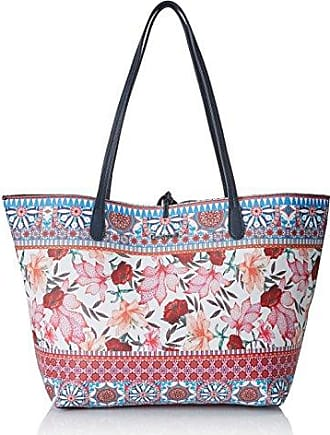Bols_tell Me Cuenca, Womens Shoulder Bag, Schwarz (Oxford Gray), 16.5x30x37.29 cm (B x H T) Desigual