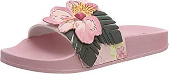 Desigual Shoes_Slide Malibu, Sandales Bout Ouvert Femme, (3103 Crystal Pink), 38 EU
