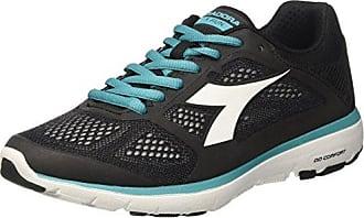 Diadora X Run 2 W, Zapatillas de Running para Mujer, Negro (Nerogrigio Acciaio), 39 EU