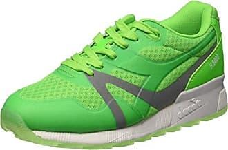 Omnicourt Z4, Chaussures de Fitness Mixte Adulte - Vert (Surf The Web), 46.5 EU (11.5UK)Hummel