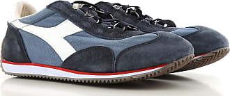 Sneaker Homme Pas cher en Soldes Outlet, Bleu marine, Toile, 2017, 41 42 45Diadora
