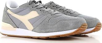 Sneaker Homme Pas cher en Soldes, Bleu jean foncé, Tissu, 2017, 45Diadora