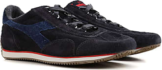 Sneakers for Men On Sale in Outlet, Midnight Blue, suede, 2017, 8 9 9.5 Diadora