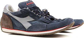 Sneakers for Men On Sale in Outlet, Navy Blue, Suede leather, 2017, 9.5 Diadora