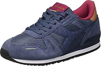Diadora i.C 4000 Nyl II, Sneaker a Collo Basso Unisex - Adulto, Bianco (BCO/Azzurro Principessa/Nero), 36.5 EU