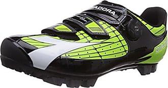 X Vortex- Comp - Zapatillas de Ciclismo de Material sintético para Mujer, Nero (Schwarz (Schwarz/Weiß 6410)), 41.5 Diadora