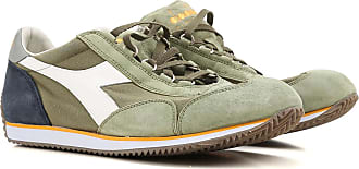 Sneakers for Men On Sale, Green, Canvas, 2017, 6.5 Diadora