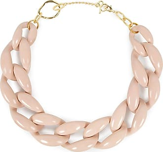 Diana Broussard Nate Large Chain Necklace In Brown QytvvhayZj