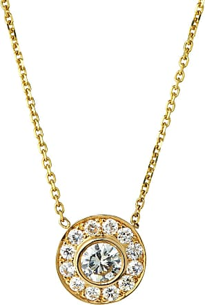 Diana M. Jewels 14KYDIA PDT NECK WITH CENTER LNFLMg