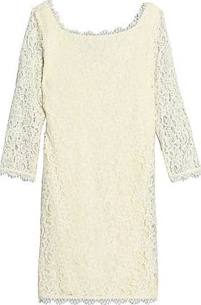 Diane Von Furstenberg Woman Scalloped Corded Lace Dress Blush Size 10 Diane Von F yhQxwb