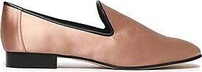 Diane Von Furstenberg Woman Leiden Satin Slippers Antique Rose Size 8.5 Diane Von F Exclusive For Sale Free Shipping Best Sale NqP7MXdOGp