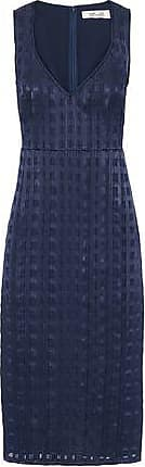 Diane Von Furstenberg Woman Pintucked Fil Coup Cheap Classic ykuOF1Cq