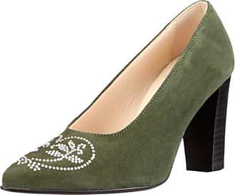 Jimmy Choo Prudence N11203 - Zapatos de cuero para mujer, color verde, talla 39