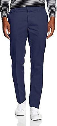 Slim Fit Work Pant Pantalones, Hombre, Negro (Black BK), (Tamaño del Fabricante:33/34) Dickies
