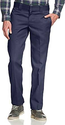 Slim Fit Straight - Pantalones para hombre, Verde(Olive Green), L30(Tamaño del fabricante:32/30) Dickies