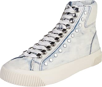 Chaussures De Sport Diesel « Noir Et Blanc » Denim Bleu Hoog FBFGlH9