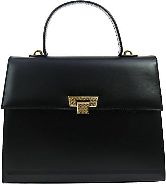 Dior Black Leather Kelly Style Top Handle Satchel Evening Flap Bag VFIfNQEVvN