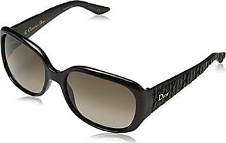 Christian Dior Damen Sonnenbrille DIORFRISSON2 HA Bil, Schwarz (Blkshn Semsh/Brown Sf), 56