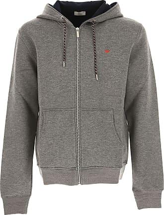 Sweatshirt for Men On Sale, Medium Grey, Cotton, 2017, L M S XL Dior