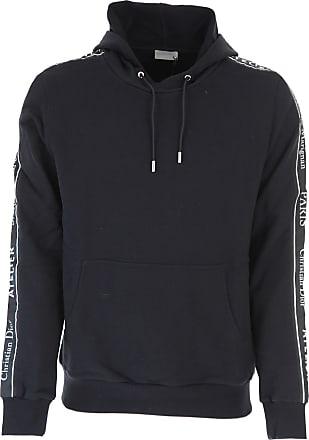 Sweatshirt for Men, Black, Cotton, 2017, L M Dior