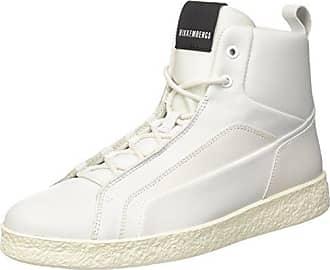 Kate 853, Sneakers Hautes Femme, Noir (Silver/Pink), 40 EUDirk Bikkembergs