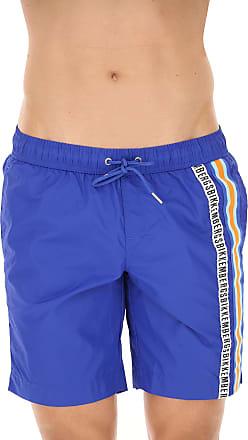 Swim Shorts Trunks for Men On Sale, White, polyamide, 2017, M (EU 48) L (EU 50) Dirk Bikkembergs