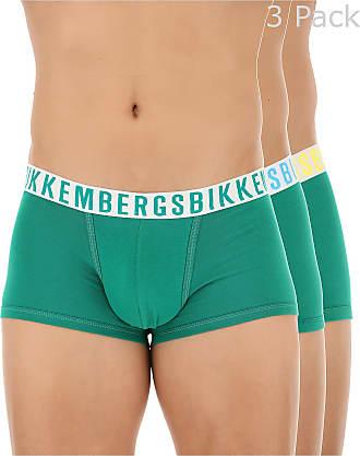 Boxer Briefs for Men, Boxers On Sale in Outlet, Blue, Cotton, 2017, XL (EU 6) Dirk Bikkembergs
