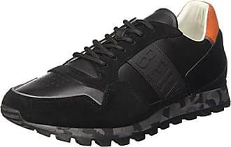 Sneakers Basses Homme - Noir - Noir (Nero 999), 45 EU EUDirk Bikkembergs