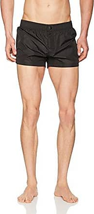 B6G5012, Pantalones Cortos para Hombre, Blanco, 2XL Dirk Bikkembergs
