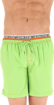Swim Shorts Trunks for Men On Sale, Green, polyester, 2017, M (EU 48) L (EU 50) Dirk Bikkembergs