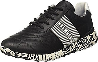 Bikkembergs Cosmos 2096, Zapatillas para Hombre, Negro (Black/White 900.0), 41 EU