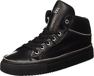 Rubb-er 752 Mid Shoe M Leather, Womens High Trainers Dirk Bikkembergs