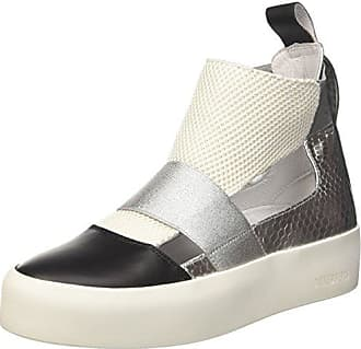 Sneakers for Women On Sale in Outlet, Silver, Leather, 2017, 3.5 Dirk Bikkembergs