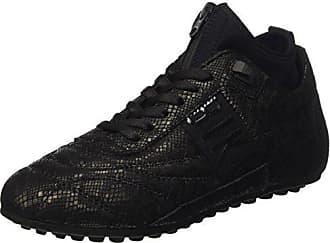 Bikkembergs BKW101537, Chaussures Basses FemmeNoirNoir (Nero), 36 EU EU