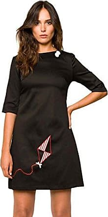 Womens Vestido M/M Dots Negro Dressed Divina Providencia dMaLV