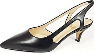 Damen Sandalen, Schwarz - Schwarz - Größe: 39 EU Divine Follie
