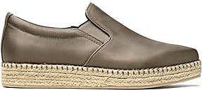 Dkny Woman Textured Satin Espadrille Sneakers Mushroom Size 9 DKNY 8nIkaJ5Hwb