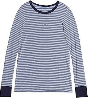Cheap Sale Clearance Store Dkny Woman Striped Stretch-modal Jersey Pajama Top Midnight Blue Size M DKNY Pay With Visa Online Cheap Sale Finishline Choice Cheap Price Clearance Shop Offer AVFS7j