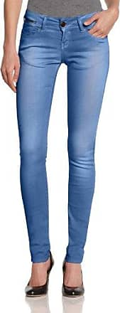 Jeans Slim Femme - Bleu - Blau (moonwash destroyed) - W27/L32Cross Jeanswear Vente 2018 Nouveau E9ZoJHrZ