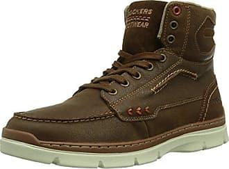 Dockers by Gerli 41jf001-208300, Sneakers Basses Homme, Marron (Braun), 45 EU