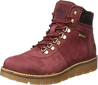 Cult Sabbath Mid 420, Desert Boots Femme, Rouge (Bordeaux 340), 37 EU