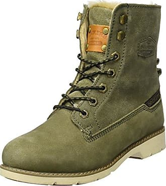 39si308-302720, Desert Boots Femme, Rouge (Dunkelrot), 38 EUDockers by Gerli