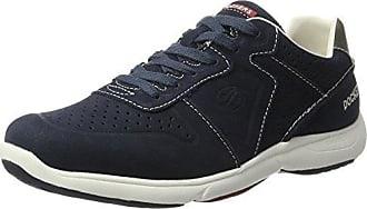 36LN001, Low-Top Sneaker uomo, Blu (Blau (navy 660)), 43 Dockers by Gerli