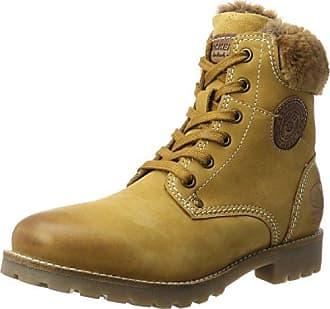 41ju204-300910, Desert Boots Femme, Jaune (Golden Tan), 41 EUDockers by Gerli