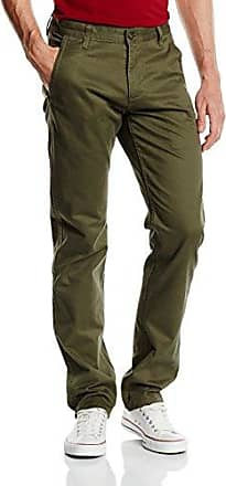 Alpha Khaki Tapered Stretch Twill - Pantalones para hombre, color verde (stretch olive), talla W31/L34 Dockers