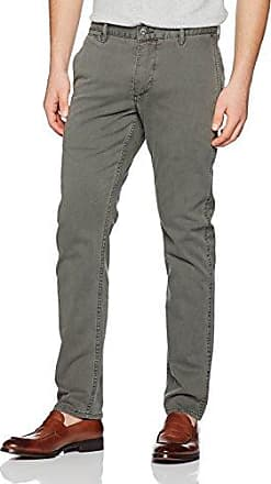 Clean Khaki Marina Slim Tapered-Stretch Twill, Pantalones para Hombre, Gris (Dark Pebble 0003), W36/L34 Dockers