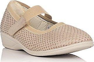 9023, Damen Sneakers, Beige - Beige - Größe: 36 EU Doctor Cutillas