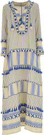 Dress for Women, Evening Cocktail Party On Sale, Beige, Cotton, 2017, 8 Dodo Bar Or