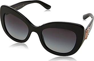 Dolce & Gabbana Damen Sonnenbrille 0DG4309 501/8G, Schwarz (Black/Gradient), 53