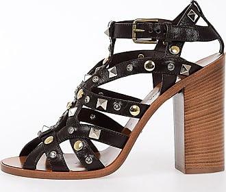 11cm Clous Sandales En Cuir Printemps / Été Dolce & Gabbana dO4UXE